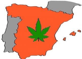 is weed legal in spain
