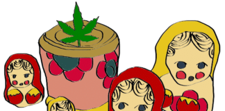 is weed legal in Russia