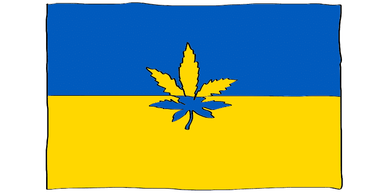 is weed legal in Ukraine