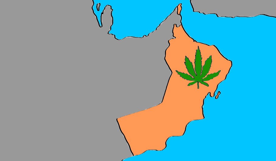 is marijuana legal in Oman