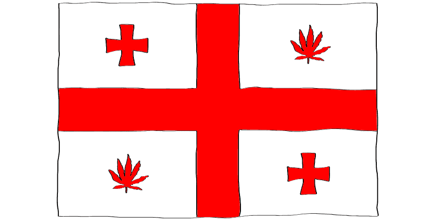 is weed legal in Georgia country