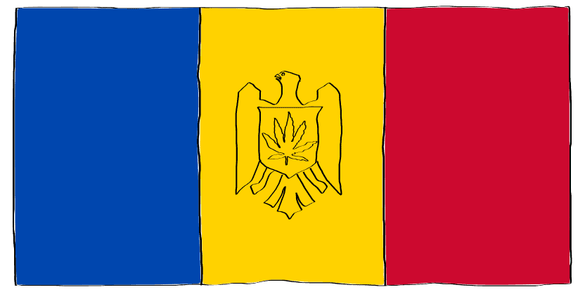 is weed legal in Moldova